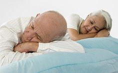 #Elderly requires less sleep than younger #adults. A. True. B. False.