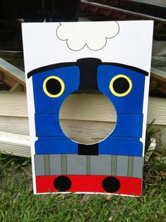 "My ""Thomas the Train"" photo prop More"