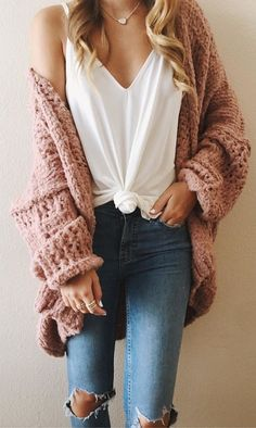 #fall #outfits Meet The Comfiest, Coziest Oversized Sweater That I Will Be Living In All Fall And Winter Long
