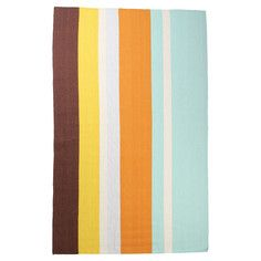 Bright Striped Rug Sea Foam, $149.50, now featured on Fab.