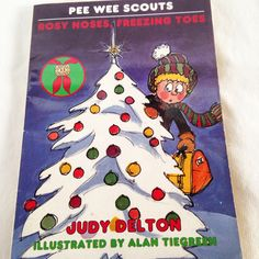 """Pee Wee Scouts """"Rosy Noses, Freezing Toes"""" - Vintage Kids  Book 1990 by RetroVintageHeart on Etsy"""