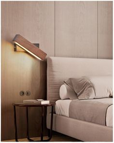 MalenCosmo Modern Nordic Solid Walnut Wood Wall Lamp AC110-240V LED Wall Sconces Indoor Rotated Wall Lamp for Living Room Bedrooms Bedside