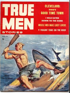 TRUE MEN, April 1956