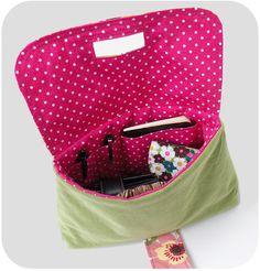 michellepatterns.com — Strap Clutch PDF Sewing Pattern