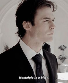 Ian Somerhalder as Damon Salvatore ❤ ❤ ❤