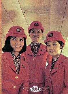 Thai Airways Stewardesses 1970s