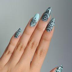 Instagram photo by  bowful  #nail #nails #nailart
