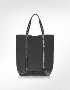 Vanessa Bruno Long Handled Sequined Tote Bag, Black