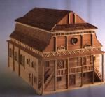 Moshe Verbin: Wooden Synagogues of Poland in the 17th and the 18th Century.   Lutomiersk