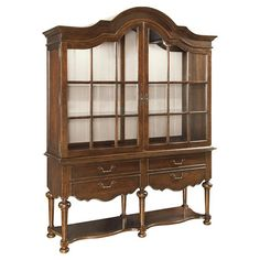 """Cordoba Display Cabinet and Hutch by Taylor & Thorpe 
