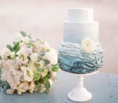 Cake by MCakesSweets, Photography by Esther Sun, Florals by Art With Nature, Sarah Park Events