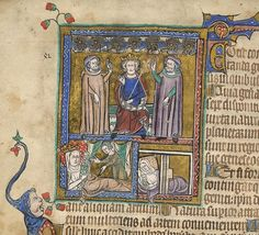 Alexander the Great and his sycophantic counselors discuss how to control the universe. Alexander The Great, Ms, Medieval, Universe, Twitter, Painting, Tuna, Queens, Painting Art