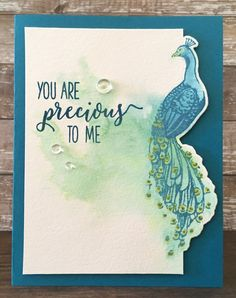 Distress Oxide Watercolor – Colorful Encouragement