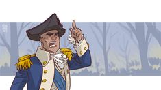 """""""Happy Fourth of July! Have a Hamilton GIF :D 