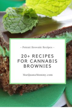 Try something different than your ordinary pot brownies. Here are 20+ Recipes for Cannabis Brownies, the weed edible.