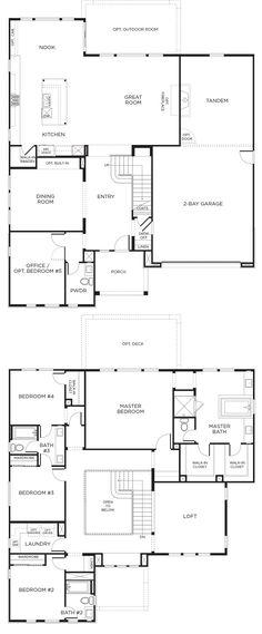 Arista Plan 3 | 5-Beds, 4-Baths | Santa Clarita, CA