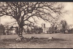 Gloucestershire Postcard - Royal Agricultural College, Cirencester DP637 | eBay