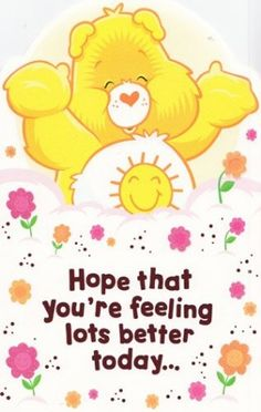Hope that you're feeling better soon. Get well soon Get Well Soon Messages, Get Well Soon Quotes, Get Well Wishes, Get Well Cards, Feel Better Quotes, Feel Good Quotes, Best Quotes, Hug Quotes, Motivational Quotes