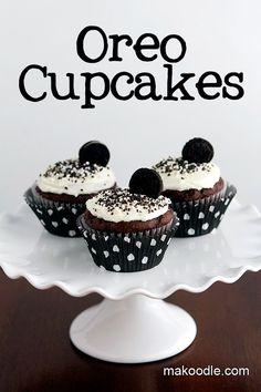 Makoodle: Oreo Cupcakes