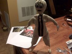 Make a doll from the movie 9