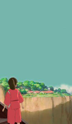 Keep on seeking and building places for yourself Studio Ghibli Art, Studio Ghibli Movies, Hayao Miyazaki, Totoro, Animes Wallpapers, Cute Wallpapers, Spirited Away Movie, Spirited Away Wallpaper, Personajes Studio Ghibli