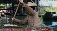 mercado flutuante - BangcoK , Thai
