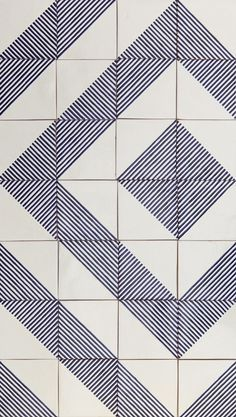 Quiltspiration : LINO tiles | design by davidpompa | Uriarte Talavera tiles | handpainted | handmade in México