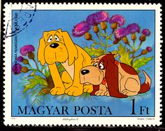 The Little Fox Postage Stamp Set // Hungary 1982 Vintage Used Post Stamps // Vuk // Animated Film // Foxes // Illustration // Hungarian Art Fox Illustration, Postage Stamp Art, Little Fox, Prehistoric Animals, Stamp Collecting, Animation Film, Cartoon, Dogs, Etsy