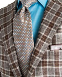 Belvest | Beige Plaid Sportcoat | Apparel | Men's