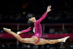 Olympics: Gabby Douglas Wins Gymnastics Final   The first African American to win the gold medal in woman's gymnastics all around at the London Olympics. A great moment in history.