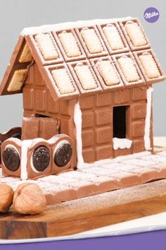 Christmas Brunch, Christmas Baking, Candy House, Chocolate Cake Recipe Easy, Just Cakes, Food Platters, Easy Cake Recipes, Diy Food, Diy For Kids