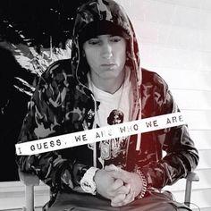 """I guess. Eminem Rap, Eminem Quotes, Song Quotes, Music Tv, Music Stuff, Marshall Eminem, The Real Slim Shady, Eminem Slim Shady, Rap God"