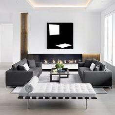 40 idee soggiorni minimal per una stupenda casa moderna | Scena ...