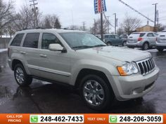 2008 Jeep Grand Cherokee Limited 175k miles $7,297 175314 miles 248-462-7433 Transmission: Automatic  #Jeep #Grand Cherokee #used #cars #GollingChrysler #Waterford #MI #tapcars
