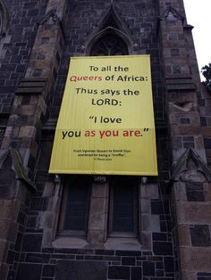 Saw This On A Church In Cape Town, South Africa