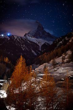 Night At Zermatt, Switzerland