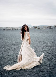 Wabi-Sabi Samuelle Couture Wedding Dress in Iceland via Magnolia Rouge Photography: Kylee Yee On Your Wedding Day, Wedding Season, Wedding Blog, Wedding Styles, Iceland Wedding, Victoria Wedding, Wabi Sabi, Destination Wedding Photographer, Bridal Style