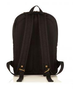 O Bag Kinsale ... Backpack Bag | Black Canvas Bag | Backpack | Designed by KNOMO London