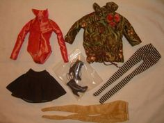 FLORA-FAUNA-AND-NOT-SO-MERRYWEATHER-Ellowyne-Wilde-Tonner-Doll-OUTFIT-LE-225