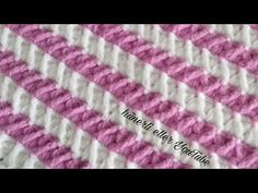 Zikzak Trabzanlı Örgü Modeli Yapılışı 💗 - YouTube Crochet Stitches, Crochet Patterns, Baby Design, Shabby Chic, Make It Yourself, Crocheting, Youtube, Crochet Doll Dress, Crochet Blankets