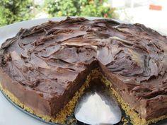 CHEESECAKE όλο Σοκολάτα – Σε 20 λεπτά είναι έτοιμο Cabbage, Cheesecake, Pie, Sweets, Chocolate, Vegetables, Desserts, Food, Cakes