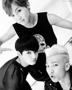 J-Hope, Jungkook, & Rap Monster