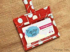 Fun luggage tags or business card holders