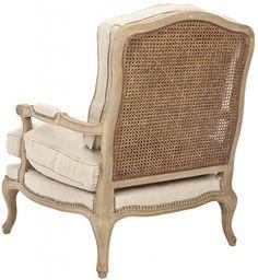 Great Safavieh Bergere chair