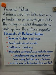 historical fiction. I would add images on this to catch attention
