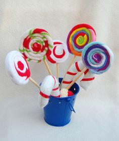 ikat bag: How To Make Lollipops