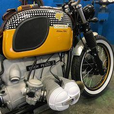 "Progress on the ""Cohiba"" R80/7 Bobber #bmw#bike#boxer#beemer #bmwbike#vintage#rseries #restoration#custom #classicbike #caferacer#motorcycle #airhead #caferacerofinstagram #bmwclassic#bmwvintage #motorad #caferacers#vintagestyle #caferacerculture#custombuilt #custombuild#bmwmotorad #vintagebike#vintagebmw #cohiba#cigar#cigarlife#cigarlifestyle#bmwcaferacer"