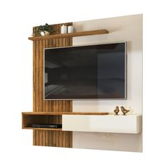 Tv Unit Decor, Tv Wall Decor, Tv In Bedroom, Bedroom Decor, Design Bedroom, Tv Wall Panel, Sliding Door Wardrobe Designs, Backdrop Tv, Tv Wall Cabinets