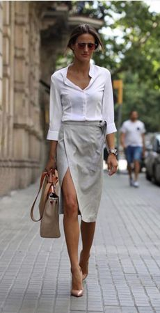 Casual Fashion Trends: Fantastic Ideas To Get Inspired By Fashion Mode, Office Fashion, Work Fashion, Spring Fashion, Fashion Looks, Fashion Tips, Fashion Trends, Winter Fashion, 80s Fashion