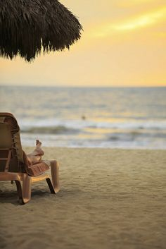 Ready for some beach therapy? #PuertoVallarta #Mexico #Travel